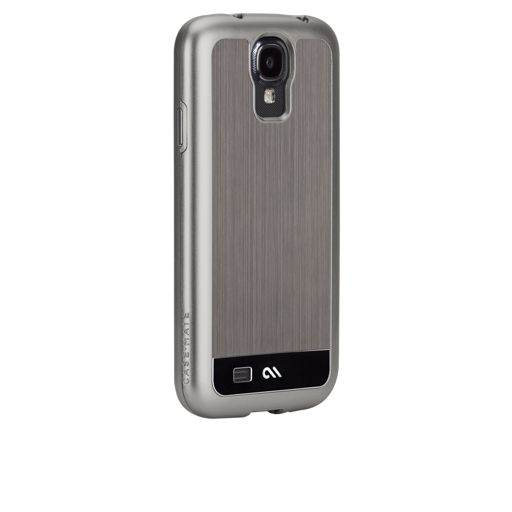 Samsung GALAXY S4 Gunmetal & Black Brushed Aluminum Case - image angle 1