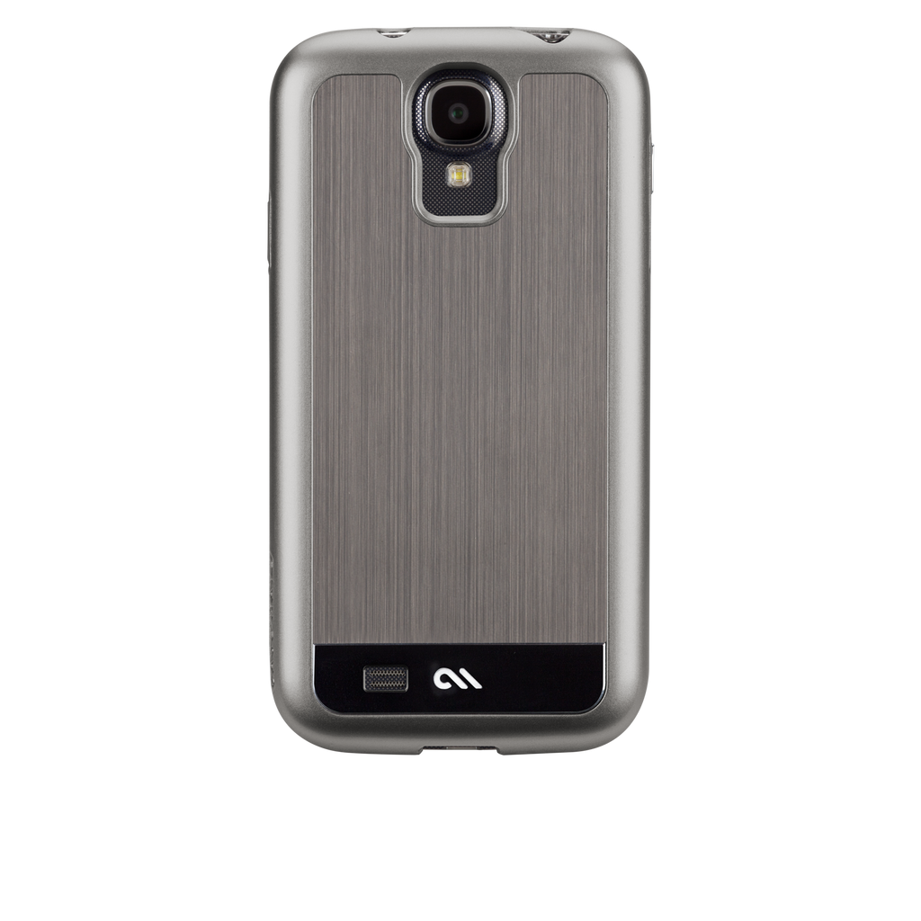 Samsung GALAXY S4 Gunmetal & Black Brushed Aluminum Case - image angle 7
