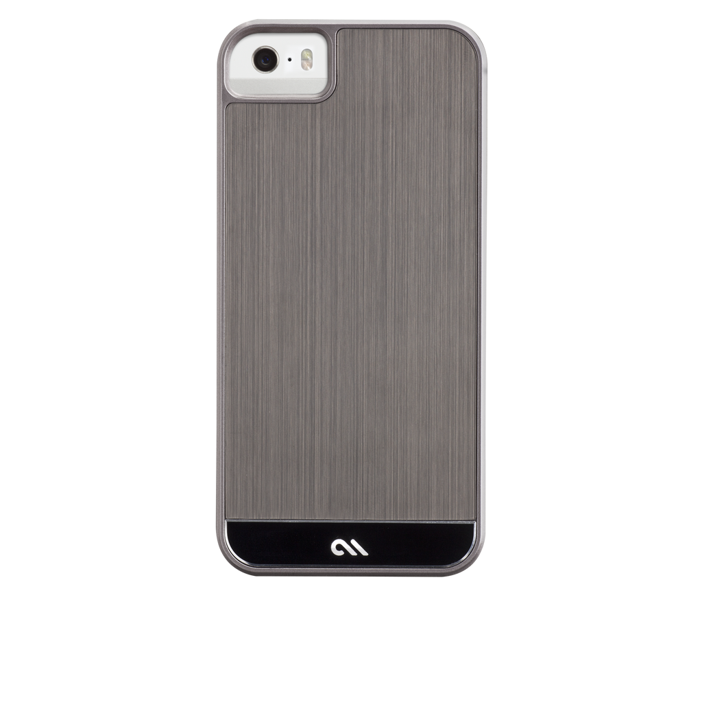 iPhone 5/5s Gunmetal & Black Brushed Aluminum Case - image angle 7.PNG