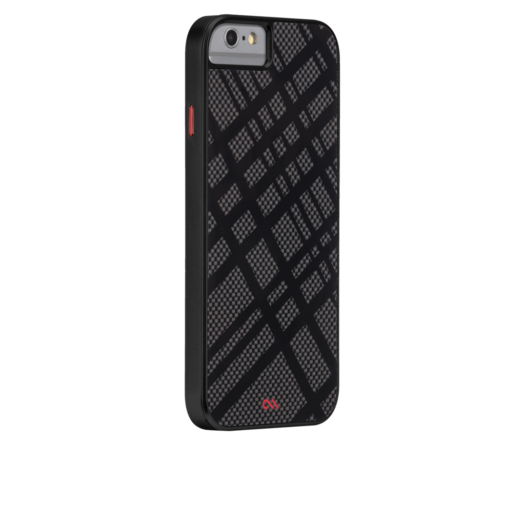iPhone 6 Black Carbon Fusion Case - image angle 1