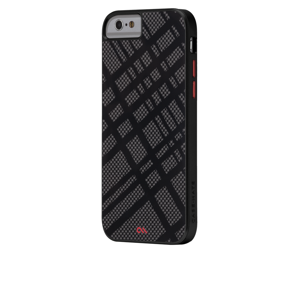 iPhone 6 Black Carbon Fusion Case - image angle 3