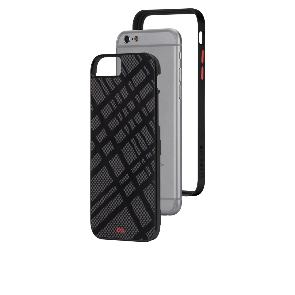 iPhone 6 Black Carbon Fusion Case - image angle 8