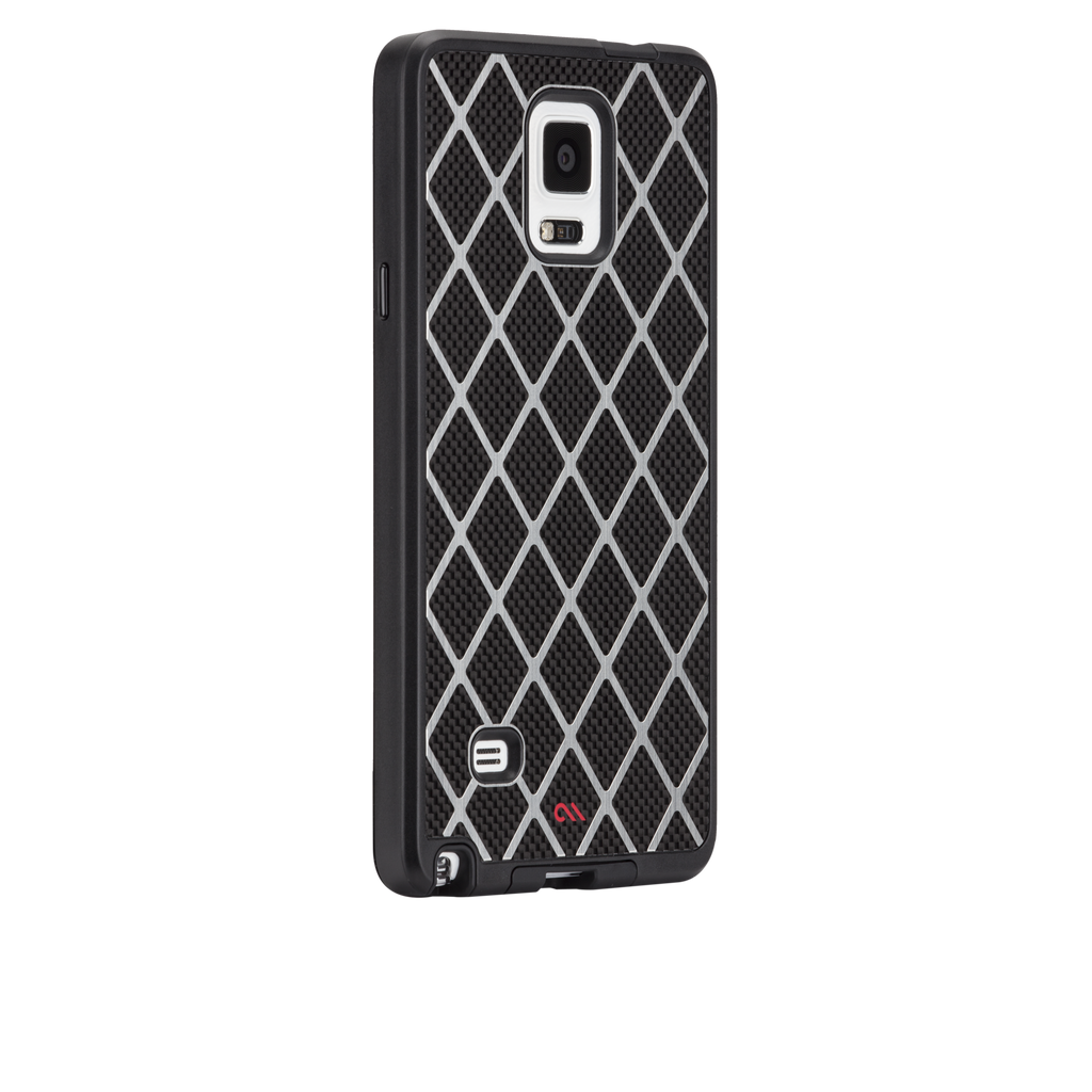 Samsung GALAXY Note 4 Black Carbon Alloy Case - image angle 1