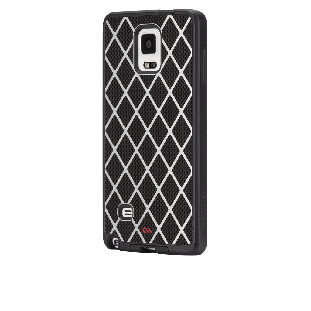 Samsung GALAXY Note 4 Black Carbon Alloy Case - image angle 3