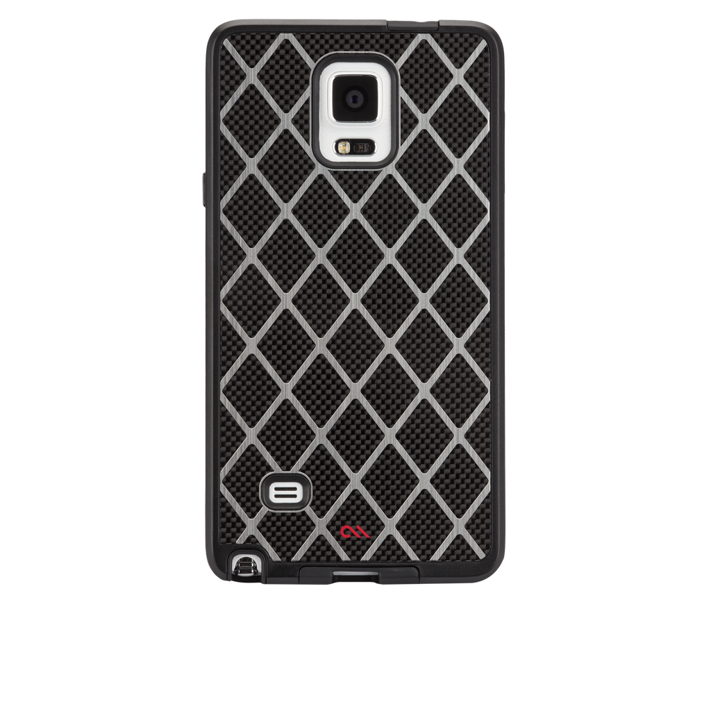 Samsung GALAXY Note 4 Black Carbon Alloy Case - image angle 7