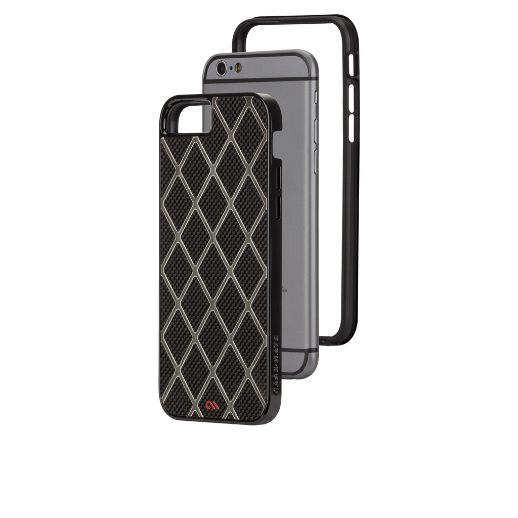 iPhone 6 Black & Titanium Carbon Alloy Case - image angle 8