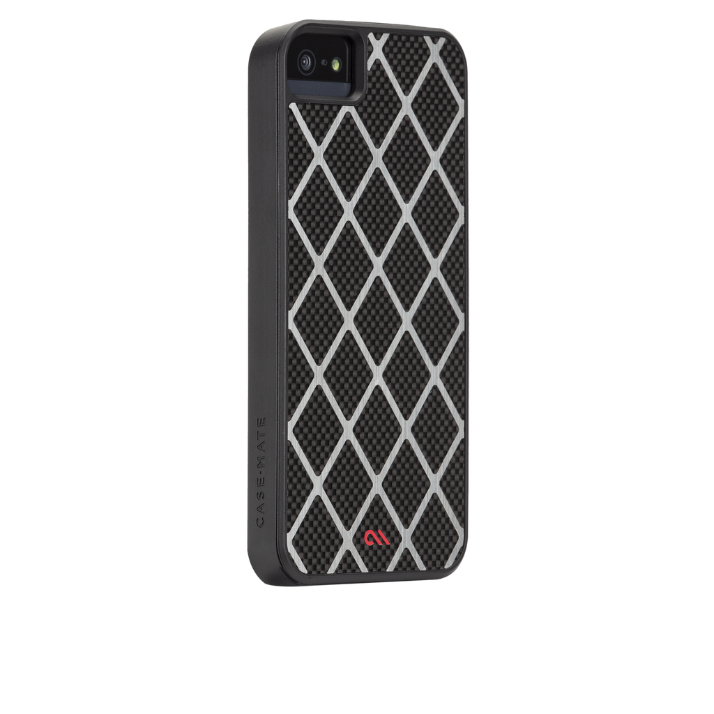 iPhone 5/5s Black Carbon Alloy Case - image angle 1
