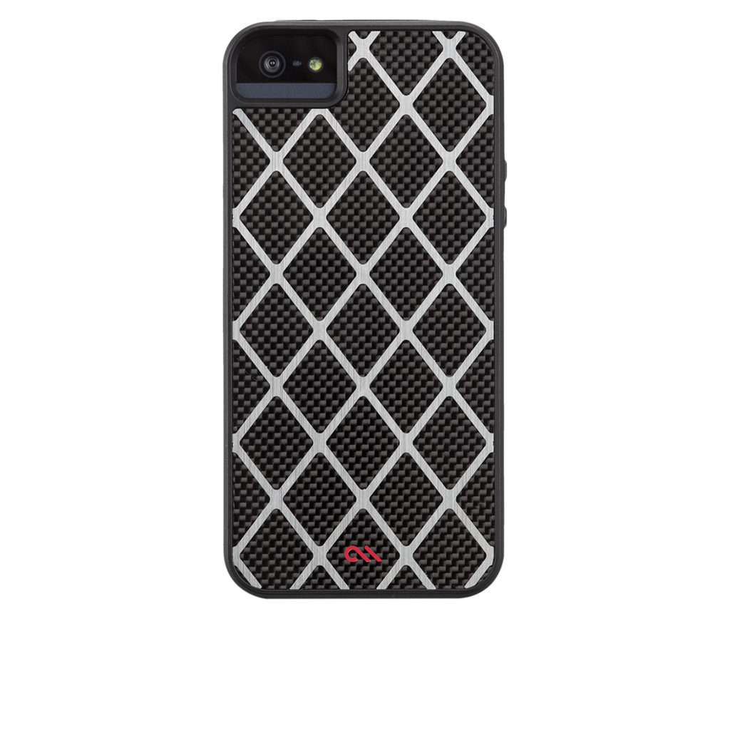 iPhone 5/5s Black Carbon Alloy Case - image angle 7
