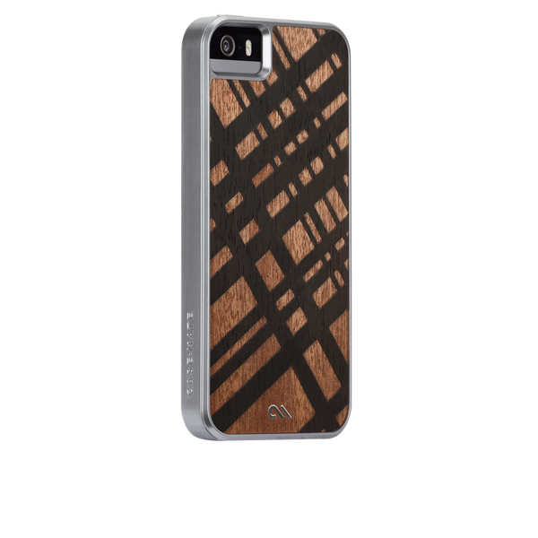 iPhone 5/5s Carved Mahogany Woods Case - image angle 1