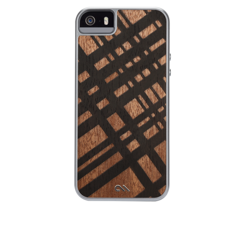 iPhone 5/5s Woods Case - Carved Mahogany