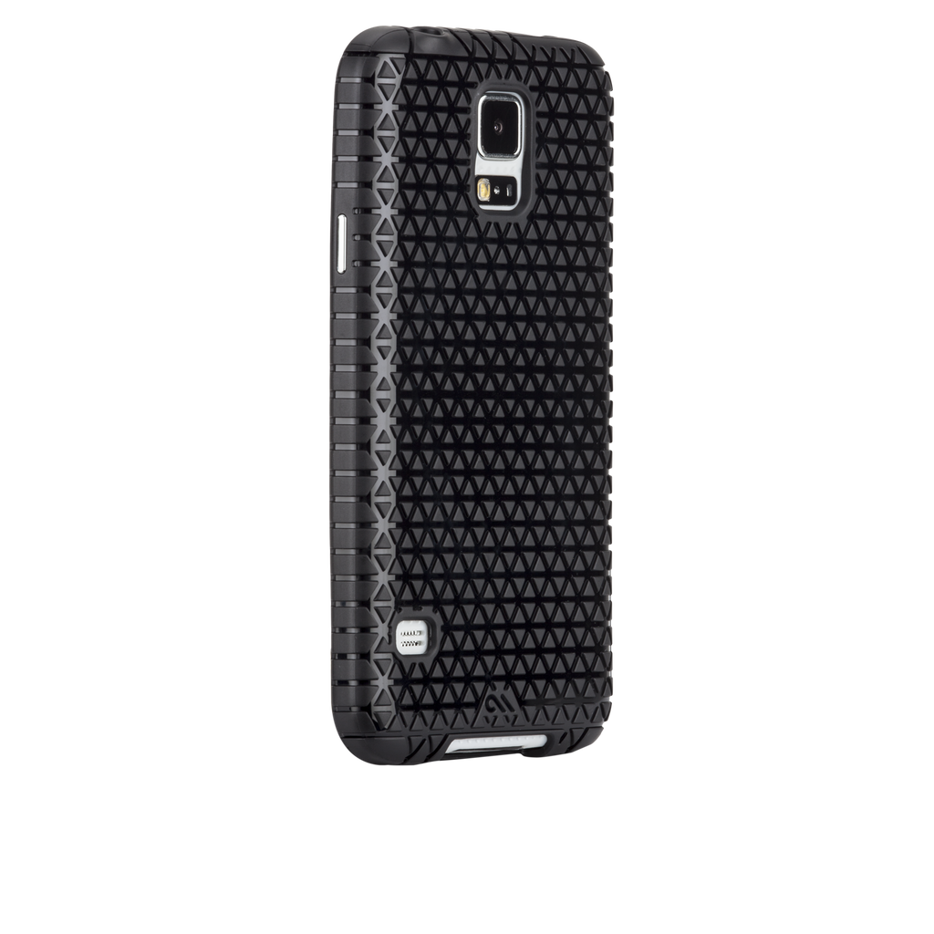 Samsung GALAXY S5 Black Emerge Case - image angle 1