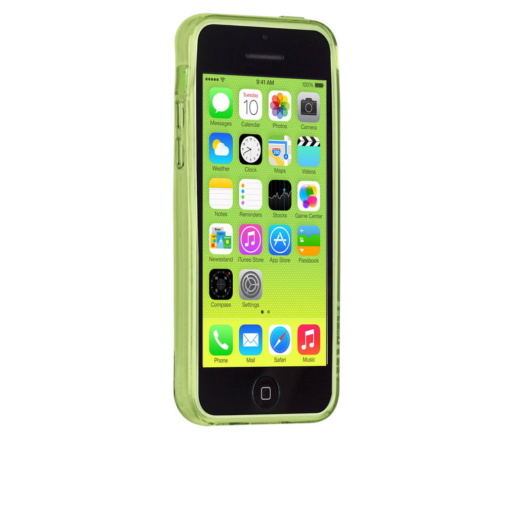 iPhone 5c Clear Gelli Case - image angle 2