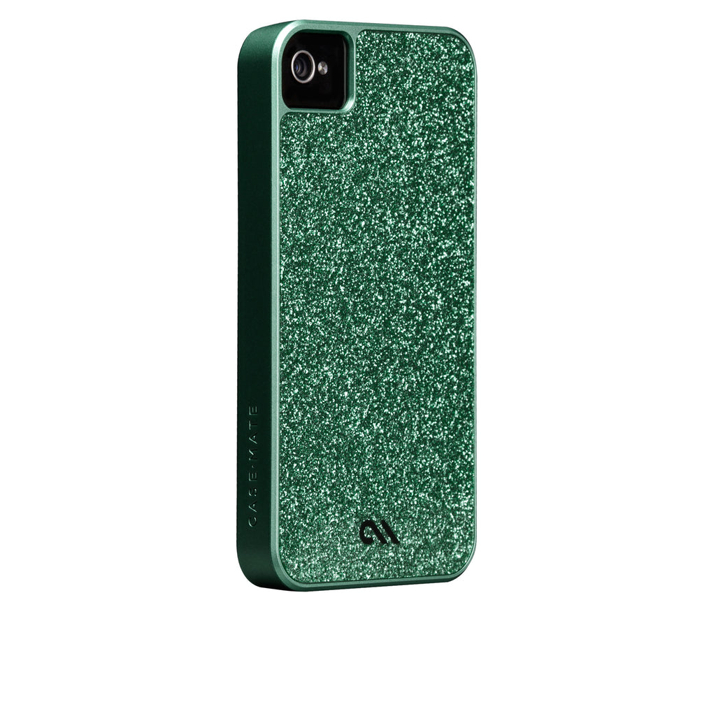 iPhone 4/4s Emerald Green Glam Case - image angle 1