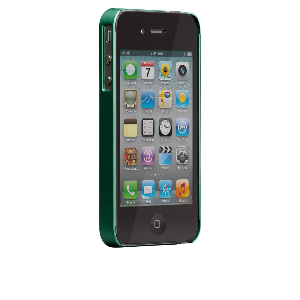 iPhone 4/4s Emerald Green Glam Case - image angle 2