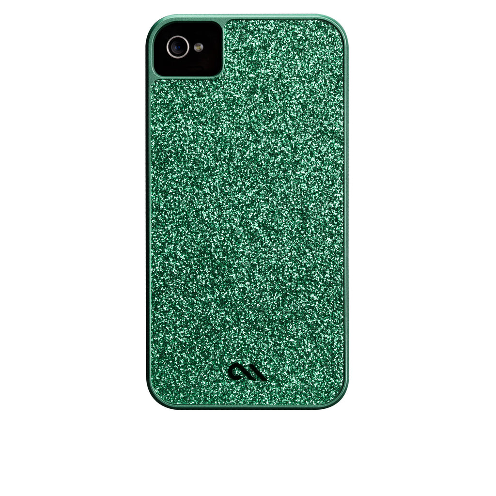 iPhone 4/4s Emerald Green Glam Case - image angle 7