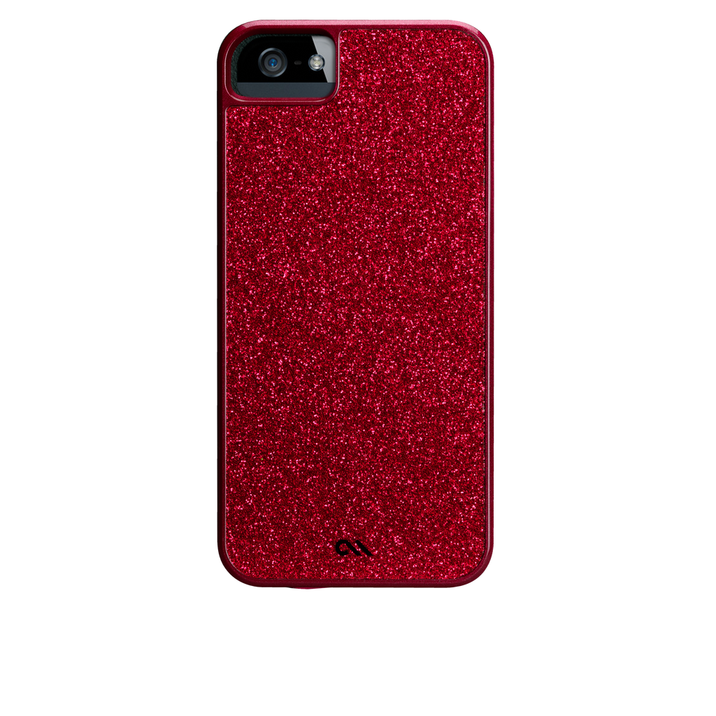 iPhone 5/5s Flame Red Glam Case - image angle 7