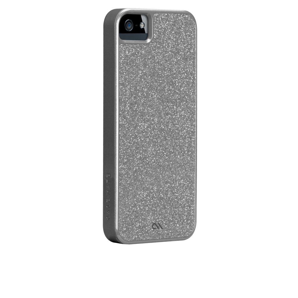 iPhone 5/5s Silver Glam Case - image angle 1