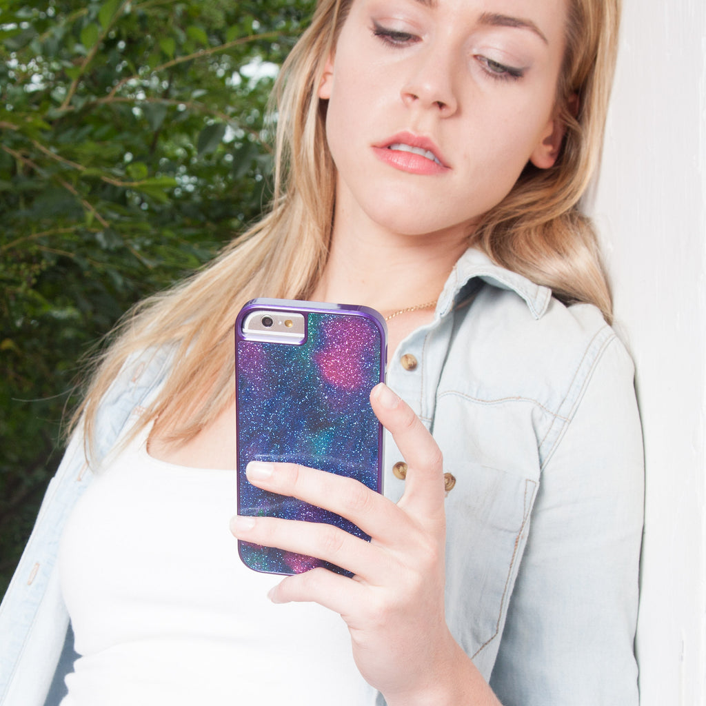 iPhone 6 Oil Slick Glam Case - lifestyle angle 1