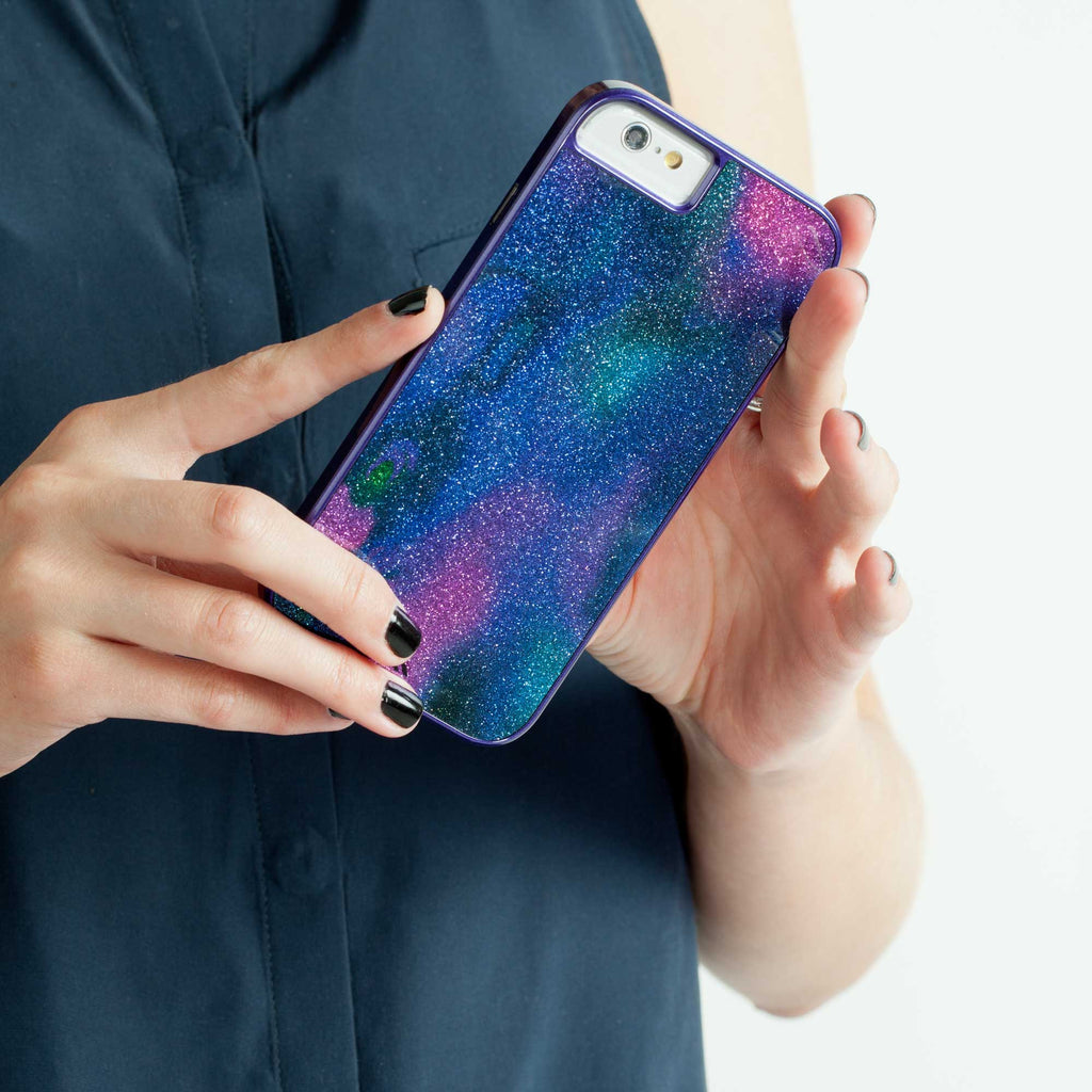 iPhone 6 Oil Slick Glam Case - lifestyle angle 2