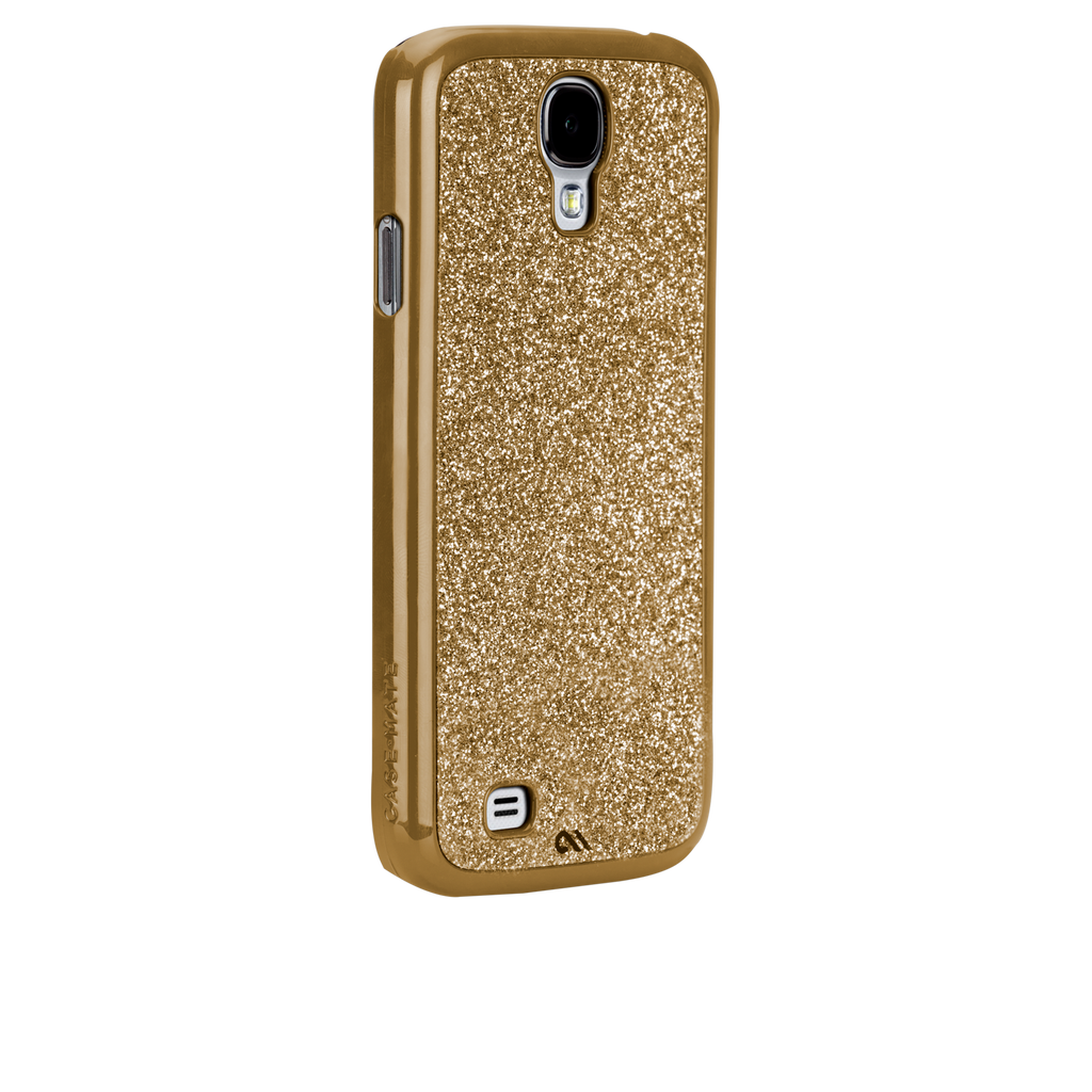 Samsung GALAXY S4 Gold Glimmer Case - image angle _1