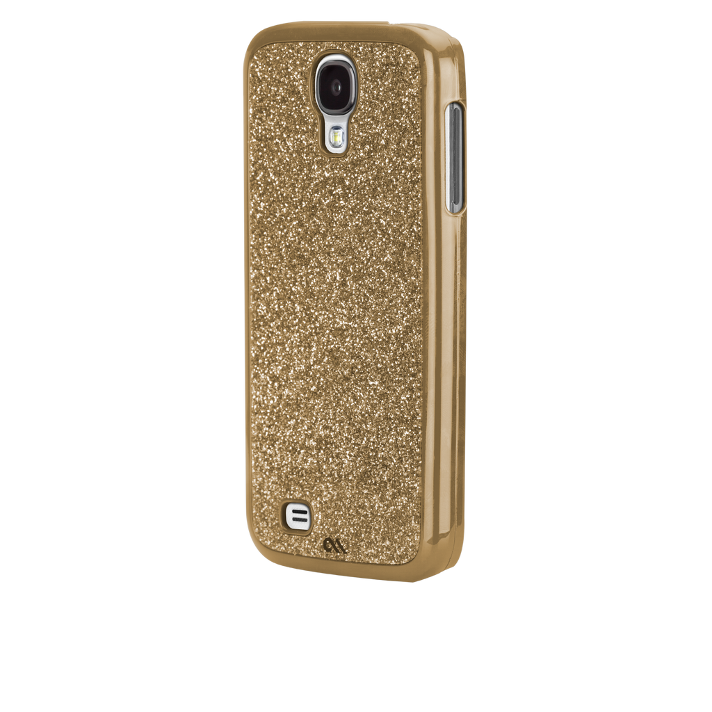 Samsung GALAXY S4 Gold Glimmer Case - image angle _3
