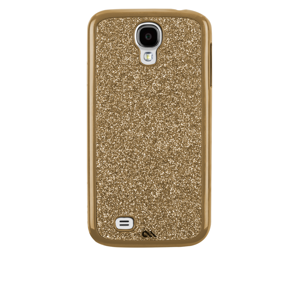 Samsung GALAXY S4 Gold Glimmer Case - image angle _7