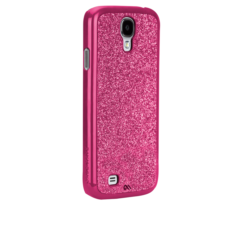 Samsung GALAXY S4 Pink Glimmer Case - image angle _1