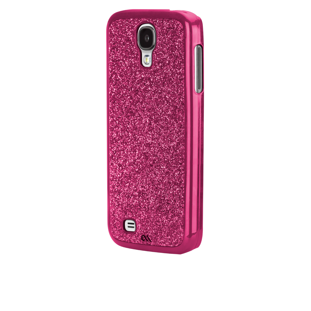 Samsung GALAXY S4 Pink Glimmer Case - image angle _3
