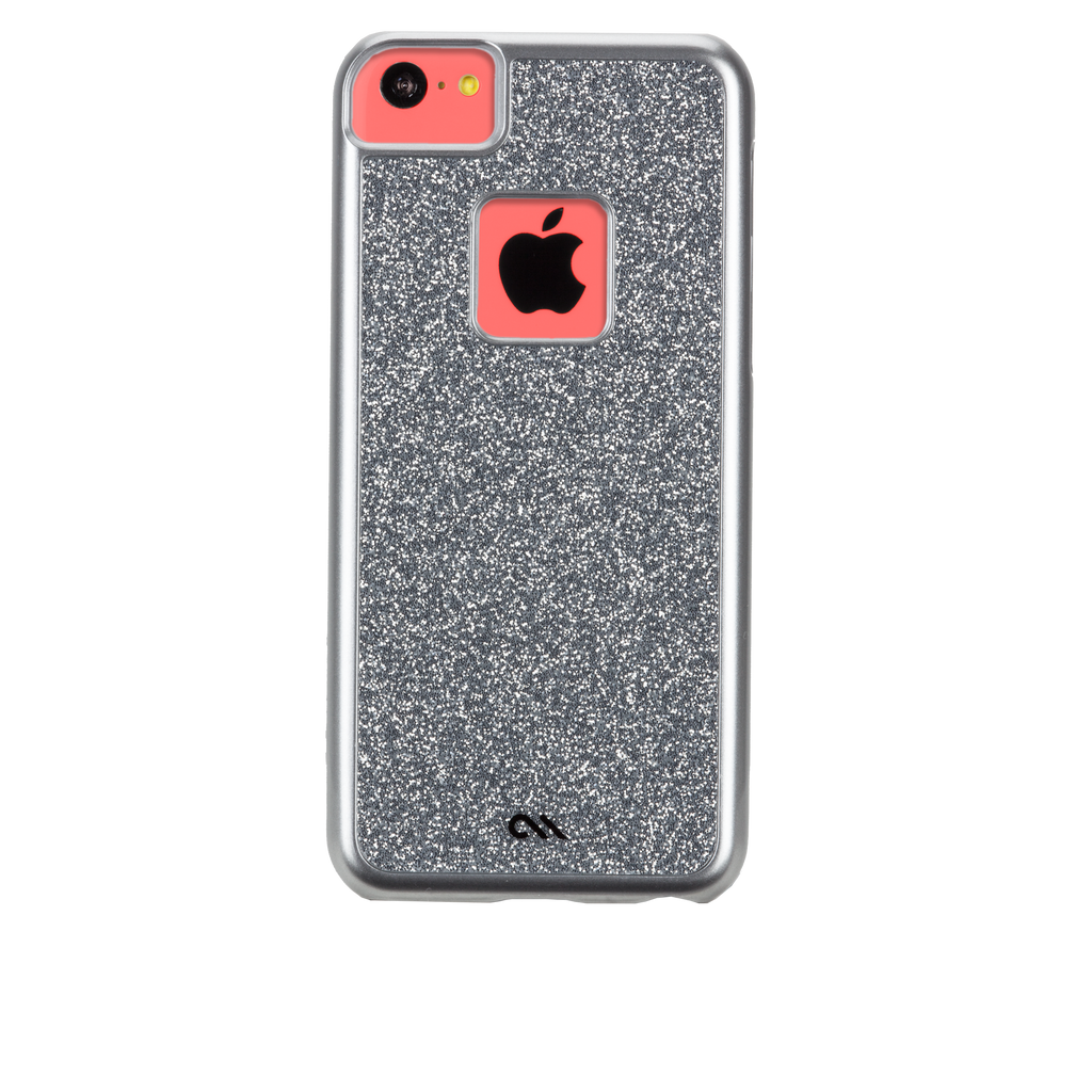 iPhone 5c Silver Glimmer Case - image angle 7