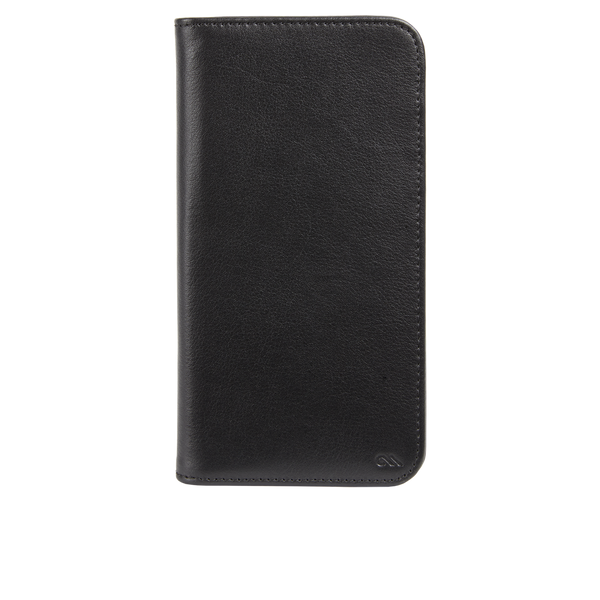Wallet Folio - Black Leather