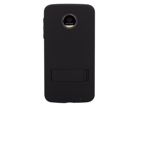 Moto Z Force Droid Tough Stand - Black - Moto Z Force Droid Edition