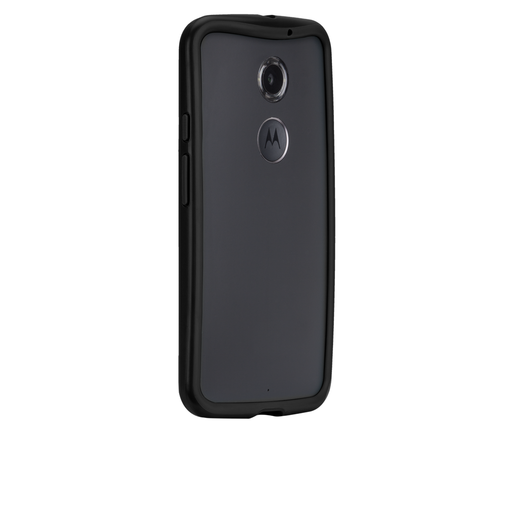 Moto X (2nd Gen.) Black & Charcoal Tough Frame Case - image angle 1