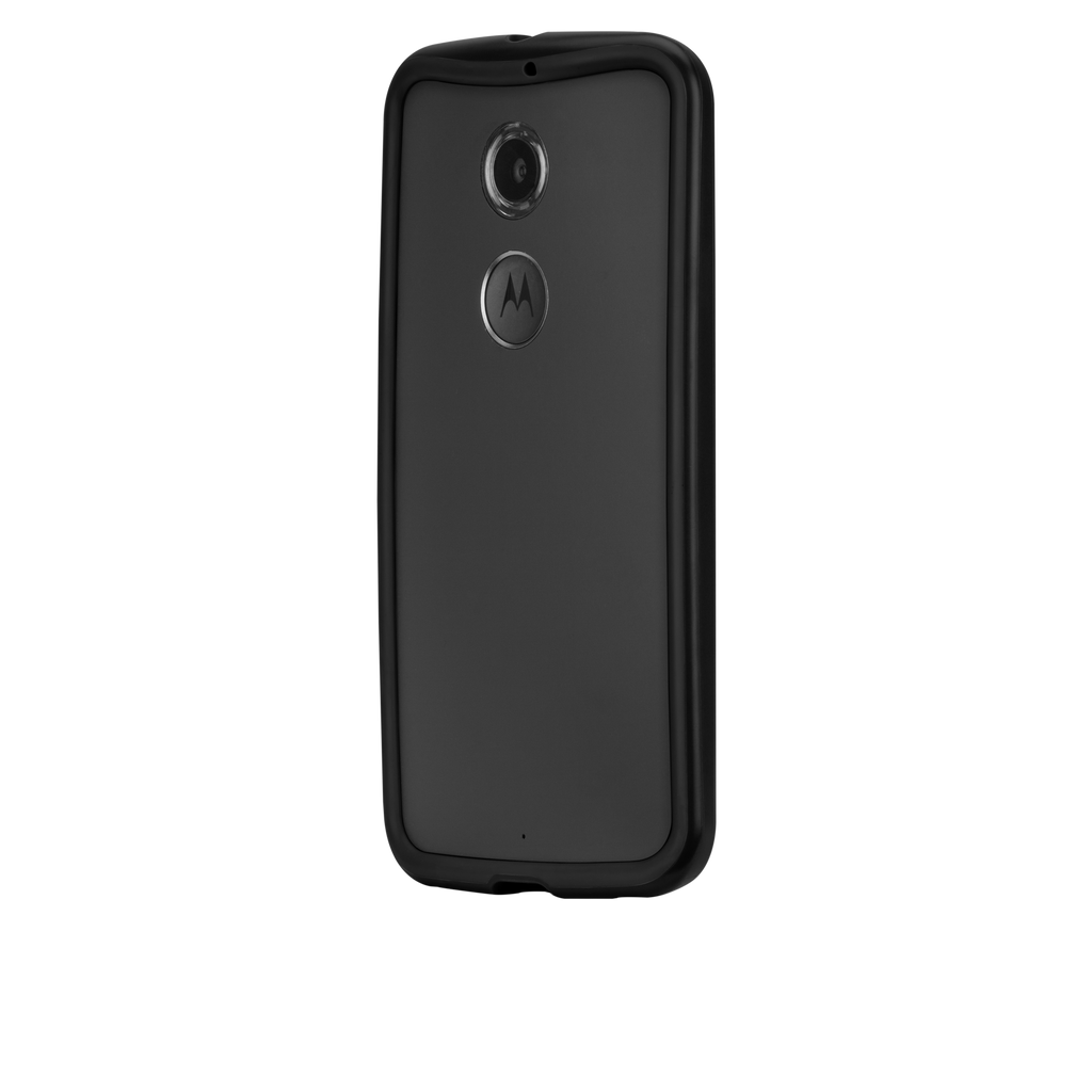 Moto X (2nd Gen.) Black & Charcoal Tough Frame Case - image angle 3