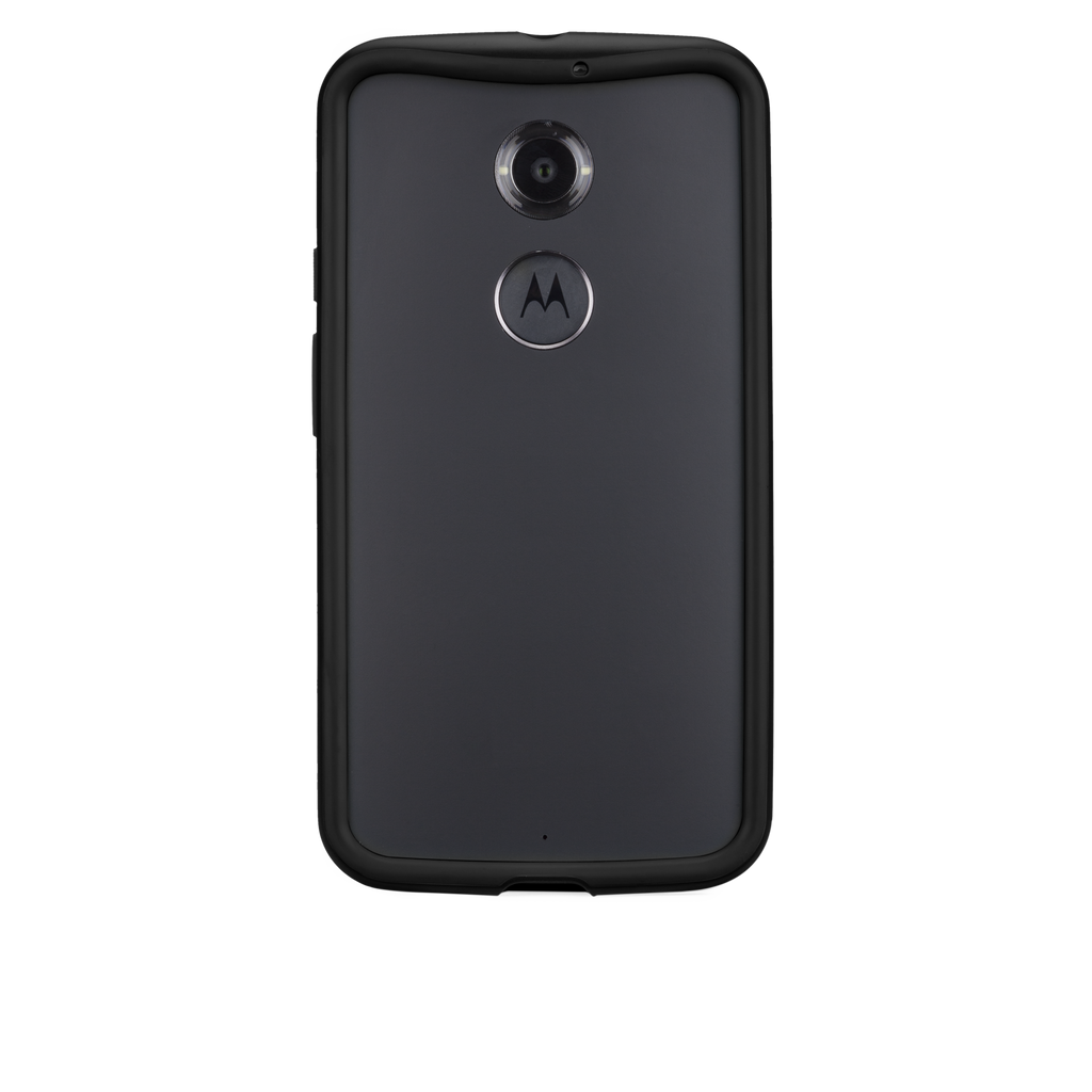 Moto X (2nd Gen.) Black & Charcoal Tough Frame Case - image angle 7