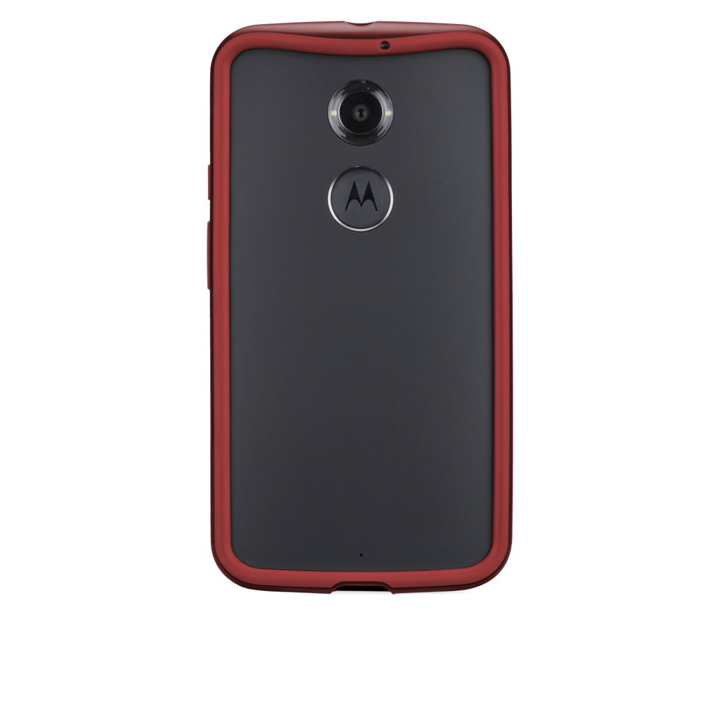 Moto X (2nd Gen.) Crimson & Red Tough Frame Case - image angle 7