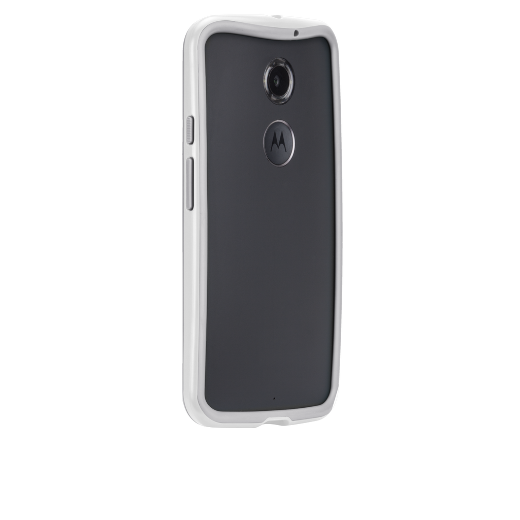 Moto X (2nd Gen.) Chalk & Clear Tough Frame Case - image angle 1