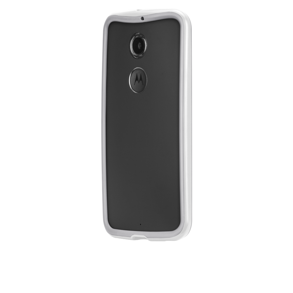 Moto X (2nd Gen.) Chalk & Clear Tough Frame Case - image angle 3