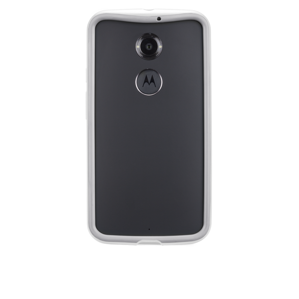 Moto X (2nd Gen.) Chalk & Clear Tough Frame Case - image angle 7