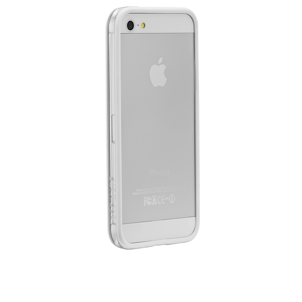 iPhone 5/5s White Hula Case - image angle 1