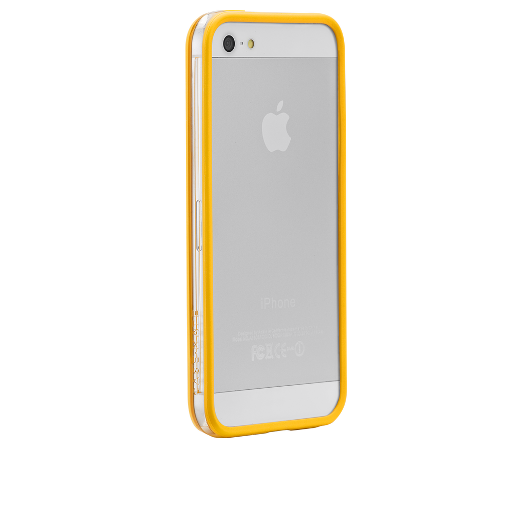 iPhone 5/5s Yellow Hula Case - image angle 1