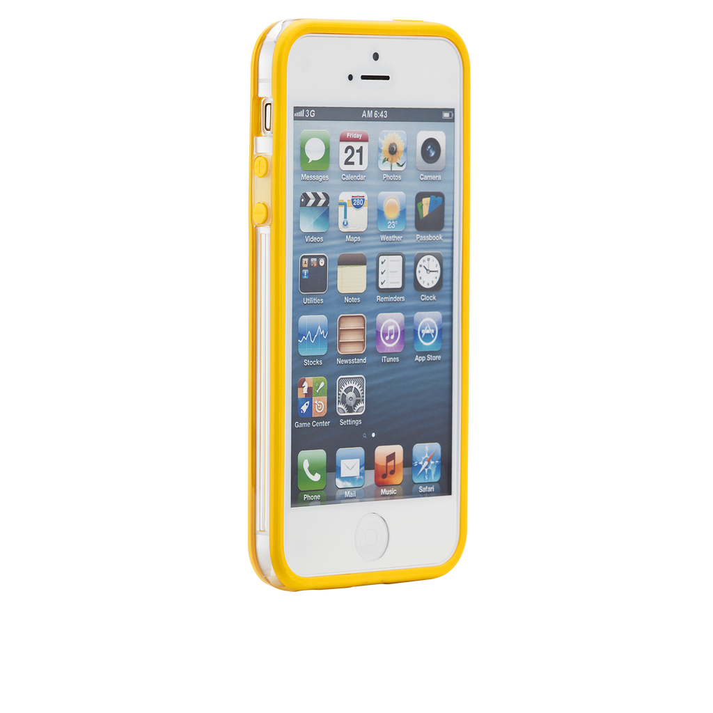iPhone 5/5s Yellow Hula Case - image angle 2