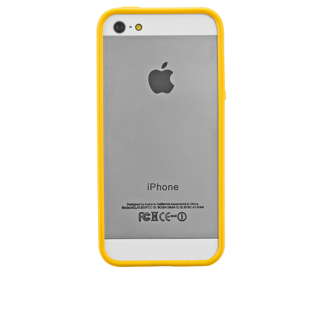 iPhone 5/5s Yellow Hula Case - image angle 7