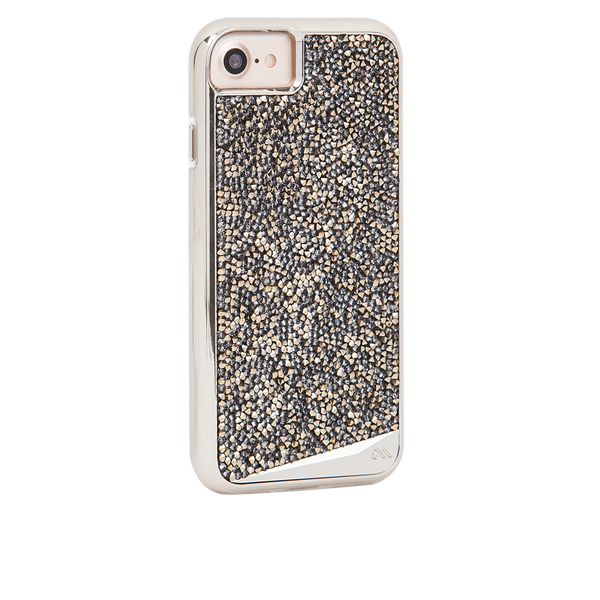 Champagne Brilliance iPhone 7 Case Back Right Angle