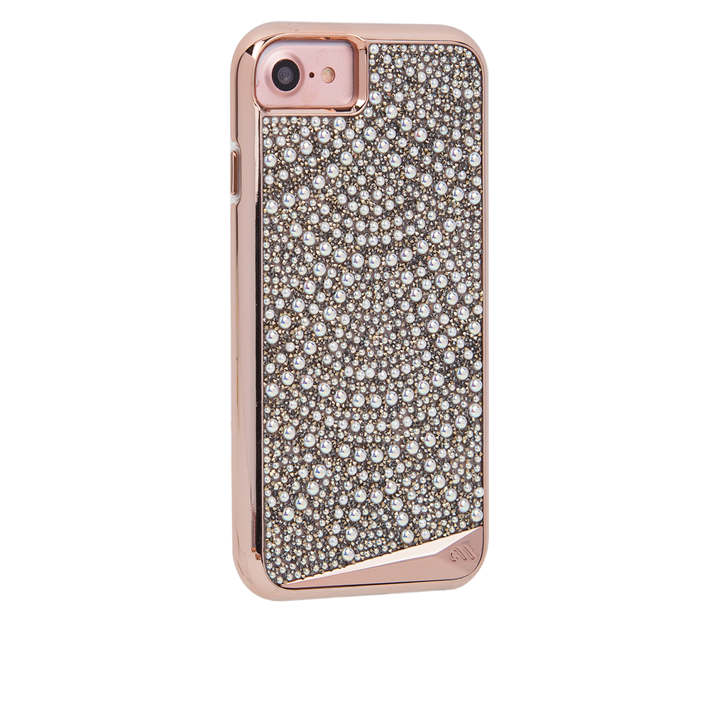 Brilliance Lace iPhone 7 Case Back Right Angle