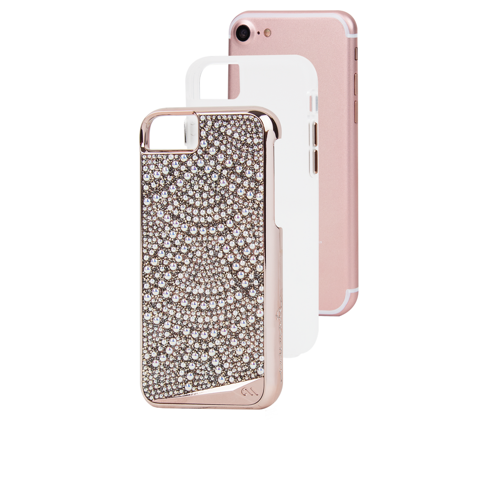 Brilliance Lace iPhone 7 Case Layers