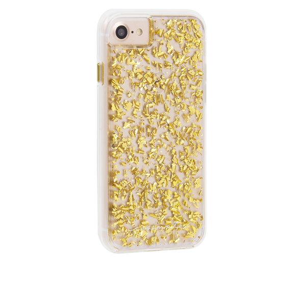 Gold Karat iPhone 7 Case Back Right Angle