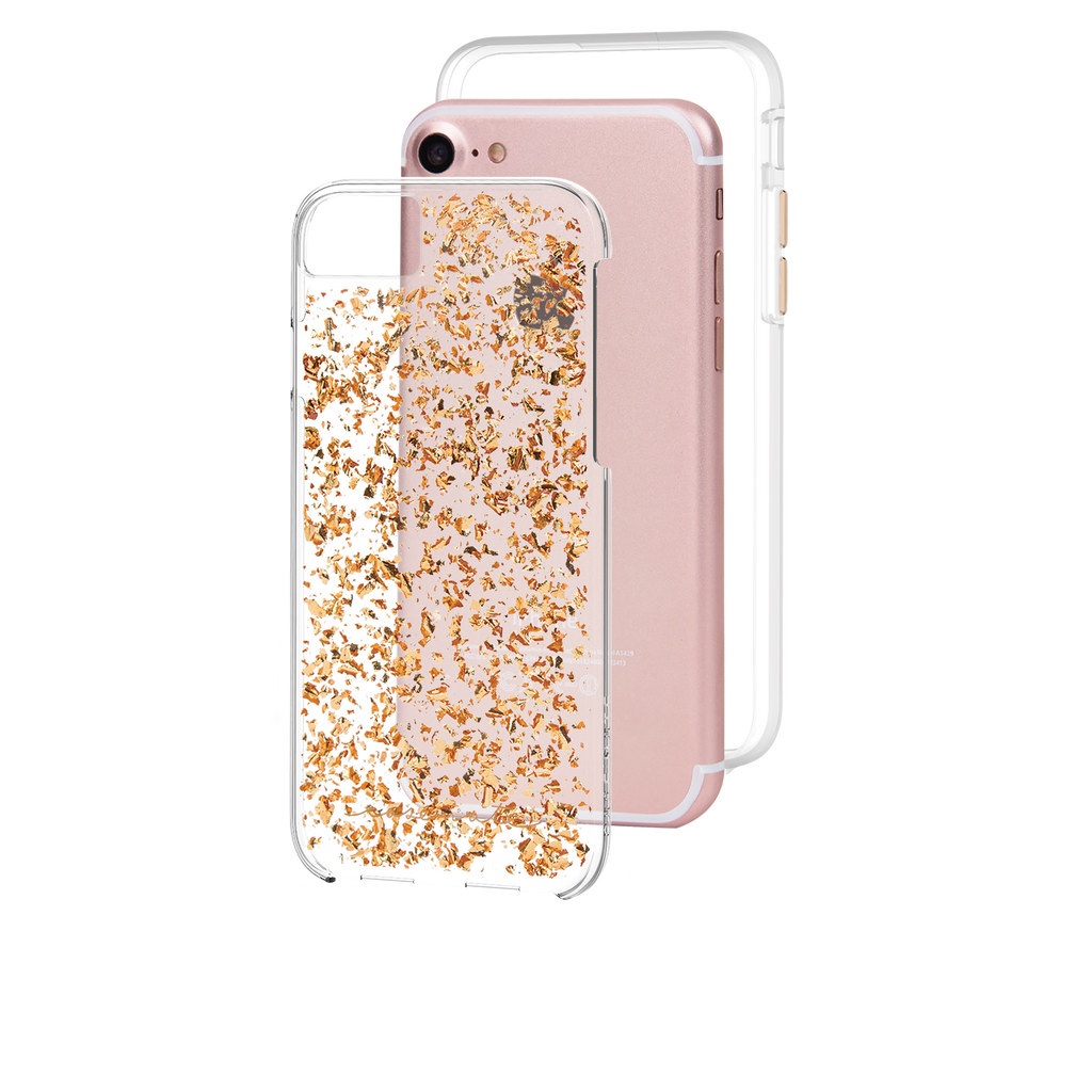 Rose Gold Karat iPhone 7 Case Layers