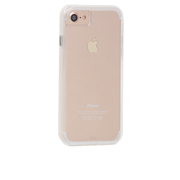 Naked Tough Clear iPhone 7 Case Back Right Angle