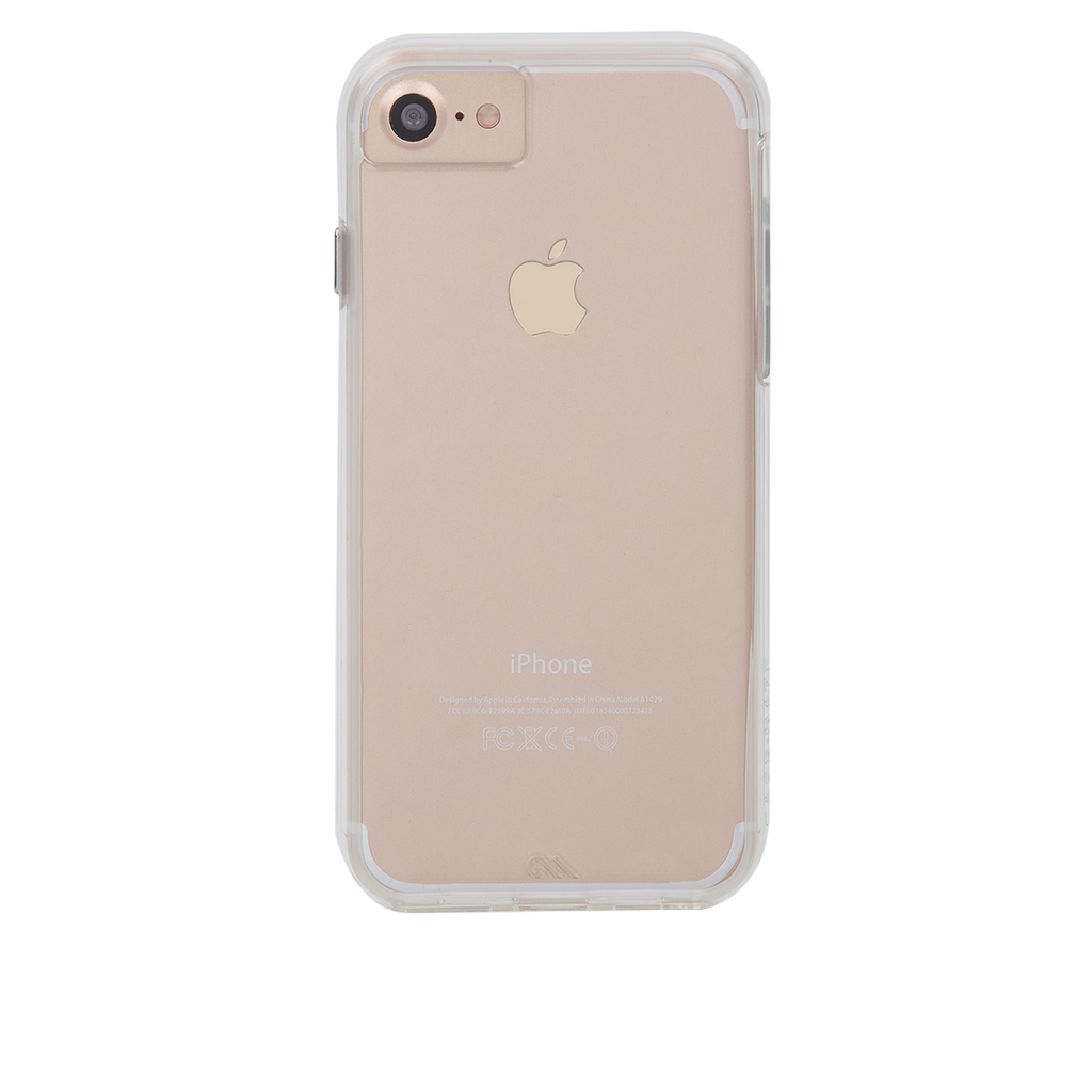 Naked Tough Clear iPhone 7 Case Back