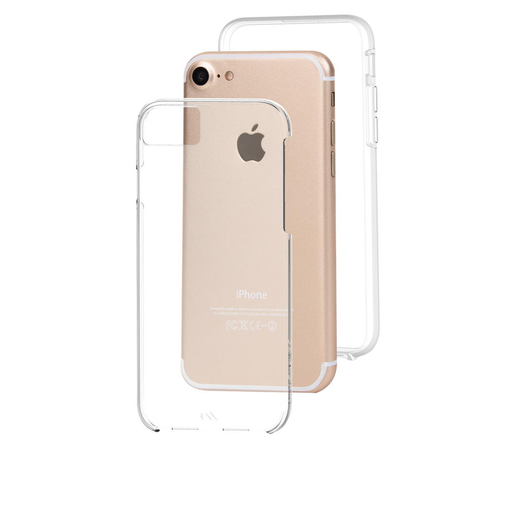 Naked Tough Clear iPhone 7 Case Layers